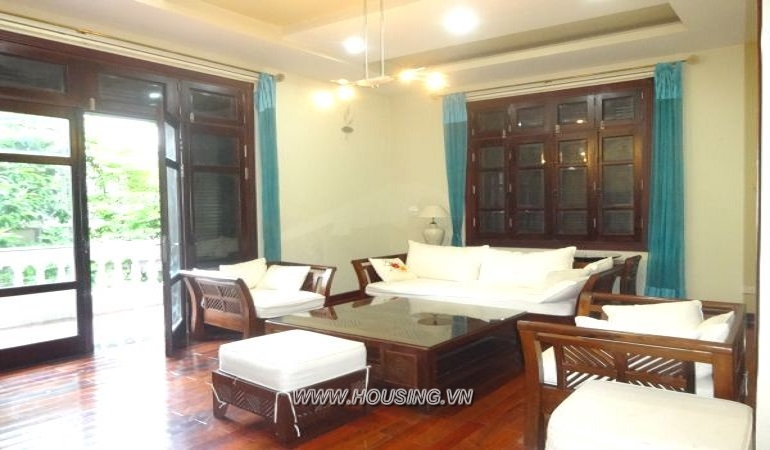 Furnished Villa in Ciputra Hanoi with 05 bedrooms