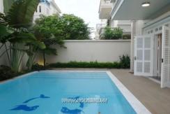 swimming pool villa in ciputra hanoi