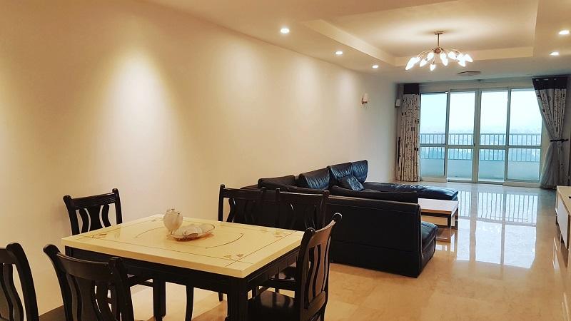 Cho thuê căn hộ đẹp 3 phòng ngủ 145m tại tòa P Ciputra