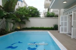 swimming pool villa in ciputra hanoi